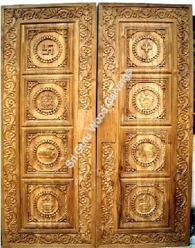 Mandir Door Design For Home | Joy Studio Design Gallery - Best Design